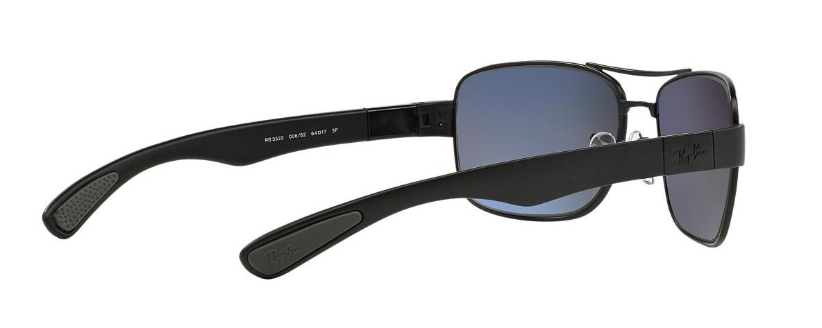 e9716d30db Ray-Ban Sunglasses RB 3522 006 82 ACTIVE LIFESTYLE POLARIZED ...