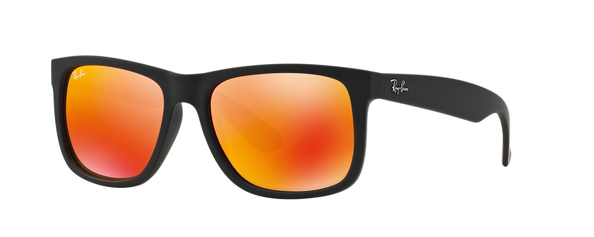 Ochelari de soare Ray-Ban RB 4165 622 6Q YOUNGSTER JUSTIN FLASH LENSES    Leonardo Optics f8ec8b334b