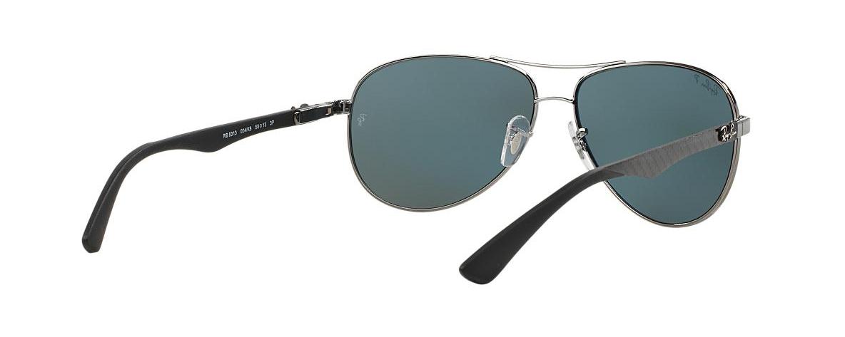 Ray-Ban Sunglasses RB 8313 004 K6 CARBON FIBRE POLARIZED   Leonardo ... 69b44a50b724
