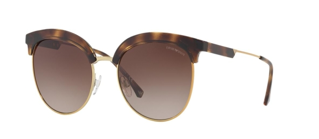 EA 4102 502613 DARK HAVANA/PALE GOLD