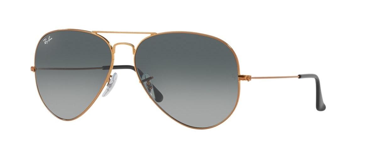 49bebbb953161 Ray-Ban Sunglasses RB 3026 197 71 AVIATOR™ LARGE METAL II   Leonardo ...