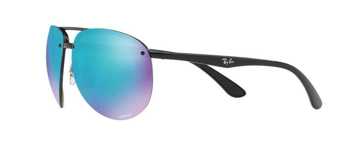 0e29e7a7573 Ray-Ban Sunglasses RB 4293 CH 601A1 BLACK CHROMANCE