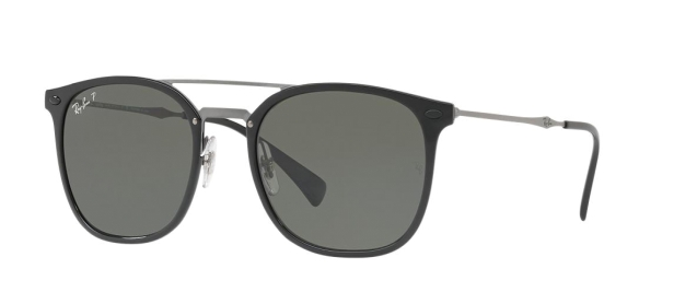 RB 4286 601/9A BLACK POLARIZED