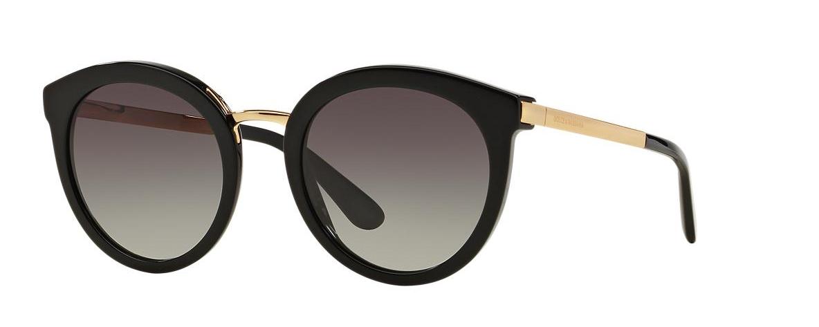 Dolce   Gabbana Sunglasses DG 4268 Black 501 8G   Leonardo Optics 62d92e238960