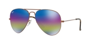 RB 3025 9019/C2 AVIATOR™ LARGE METAL MINERAL LENSES