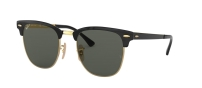 RB 3716 GOLD TOP ON BLACK POLARIZED
