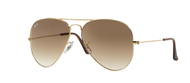 RB 3025 001/51 AVIATOR™ LARGE METAL GRADIENT