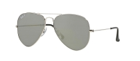 RB 3025 003/59 AVIATOR™ LARGE METAL FLASH LENSES POLARIZED