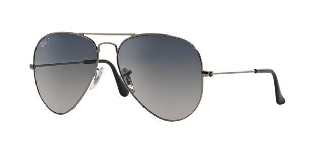 RB 3025 004/78 AVIATOR™ LARGE METAL GRADIENT POLARIZED