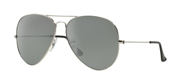 RB 3025 003/40 AVIATOR™ LARGE METAL FLASH LENSES
