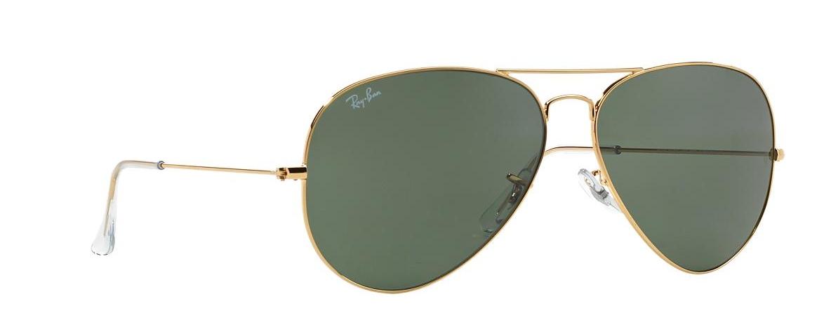 9c036b5588e1f Ray-Ban Sunglasses RB 3026 L2846 AVIATOR™ LARGE METAL II   Leonardo ...