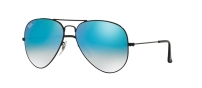 RB 3025 002/4O AVIATOR™ LARGE METAL FLASH LENSES
