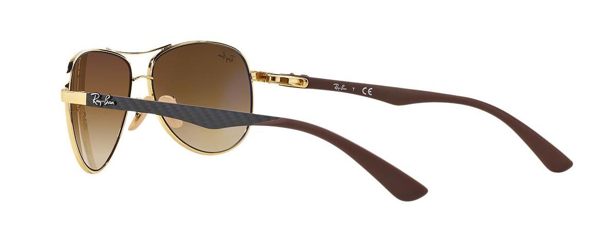 Ray-Ban Sunglasses RB 8313 001 51 TECH CARBON FIBRE   Leonardo Optics 2e8b31830e11