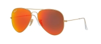 RB 3025 112/4D AVIATOR™ LARGE METAL FLASH LENSES POLARIZED
