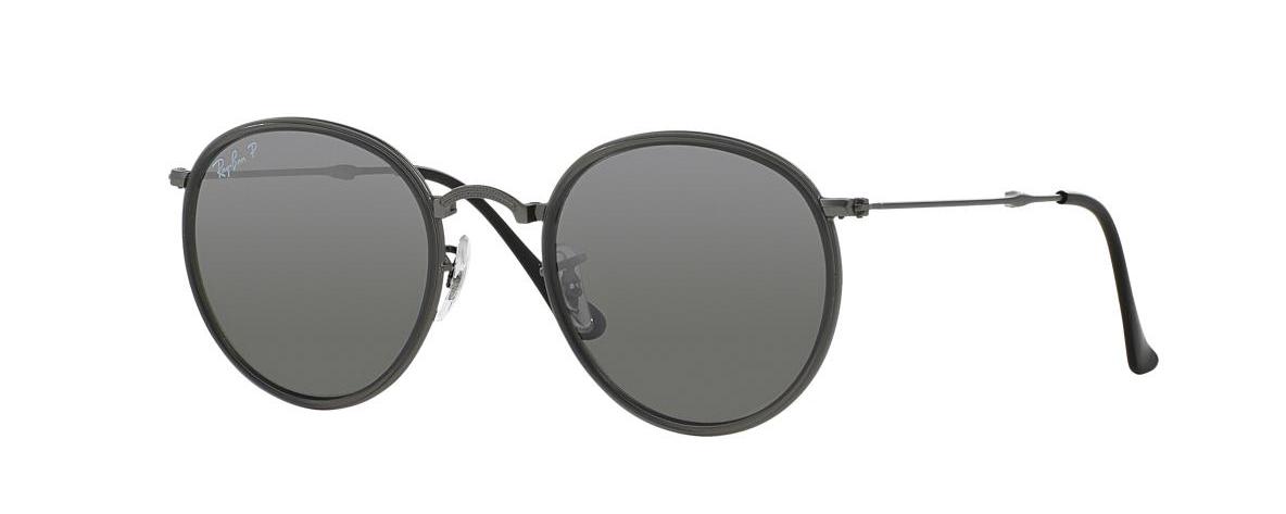 Ray-Ban Sunglasses RB 3517 029 N8 ROUND FOLDING I POLARIZED   Leonardo  Optics 066603a8ca