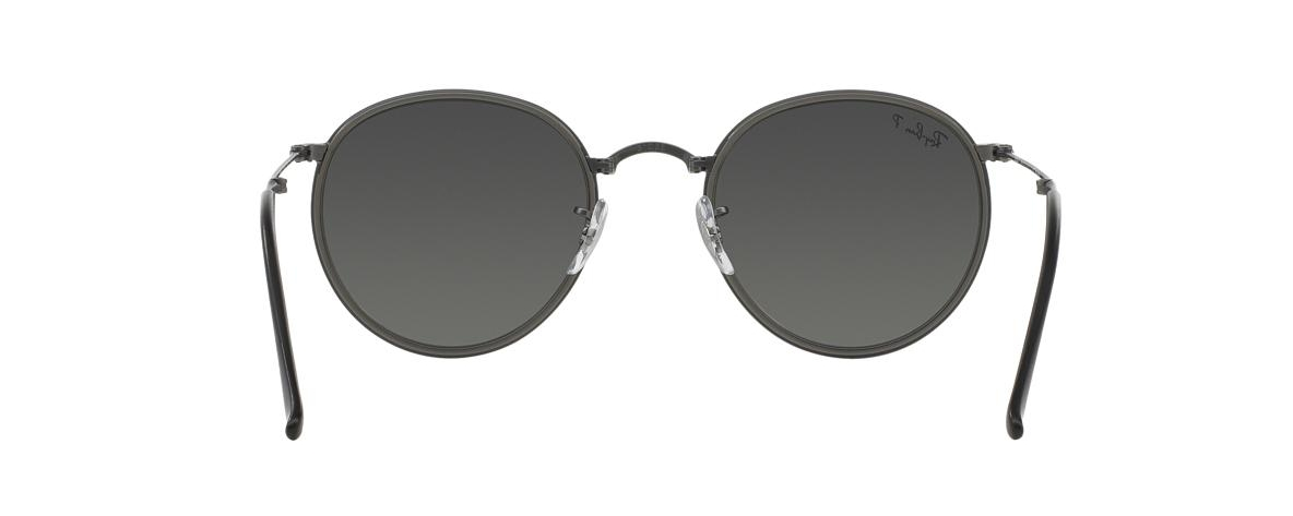 Ray-Ban Sunglasses RB 3517 029 N8 ROUND FOLDING I POLARIZED ... df2a7eff7f