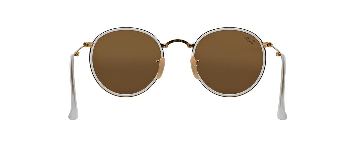 Ray-Ban Sunglasses RB 3517 001 93 ROUND FOLDING I FLASH LENSES ... 5dad540bc9