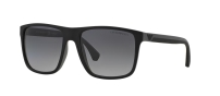 EA 4033 Black Grey Rubber Polarized 5229T3