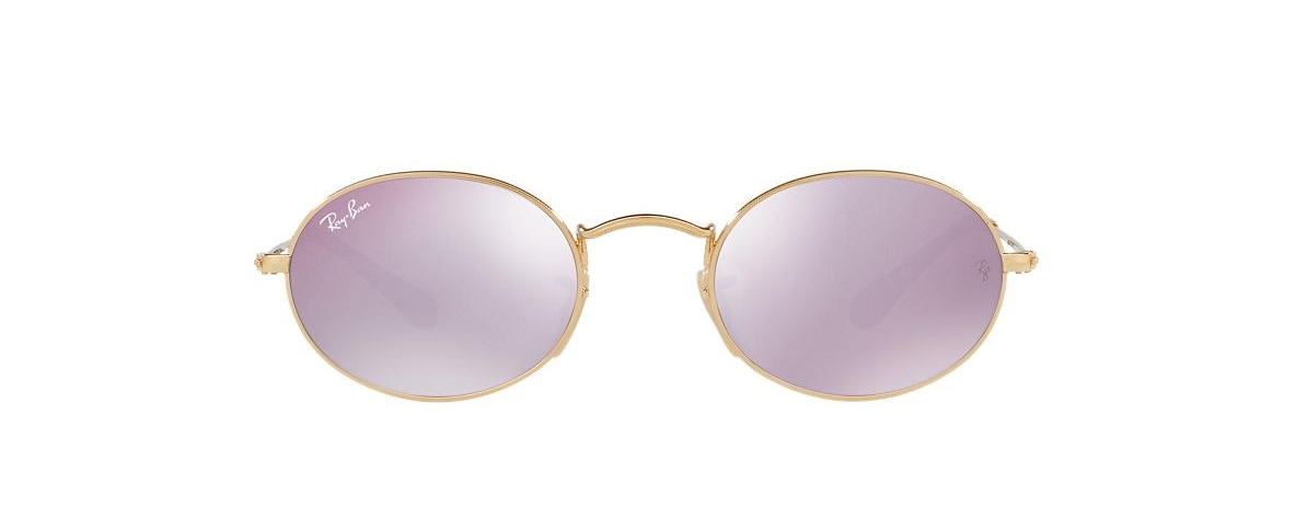 49b4dfb305 Ray-Ban Sunglasses RB 3547N 001 8O ROUND OVAL FLAT LENSES